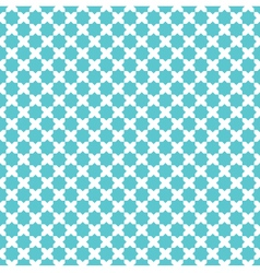 moroccan cross star pattern background vector image vector image