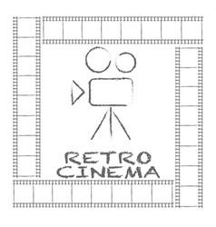 Movie retro posters and flyer vintage cinema vector