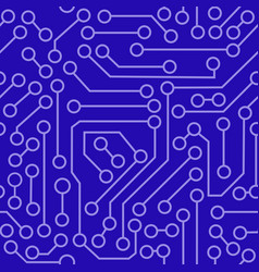 pattern electronic circuit vector image