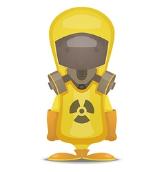 Radiation Protection Suit vector image