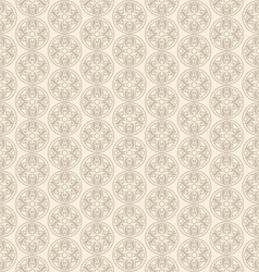 Seamless Pattern in Oriental Style Ornamental vector image