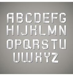 alphabet vector image