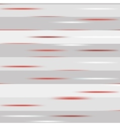 Grey striped pattern with red speckles vector image