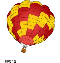 balloon 02 color vector image vector image