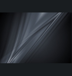 Dark abstract smooth lines background vector