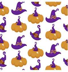 halloween and thanksgiving day symbol pumpkin vector image