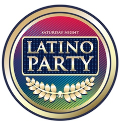 Latino Party vector image