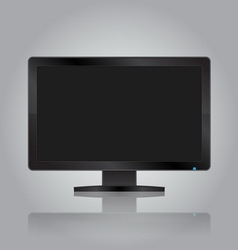 Modern monitor vector image