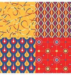 pattern set pop vector image