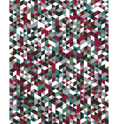 seamless triangular pattern vector image