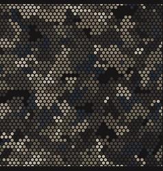 Seamless urban camouflage pattern pixel vector