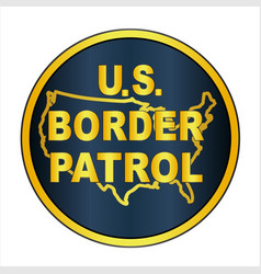 United states border control vector