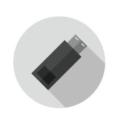 Usb pen icon vector
