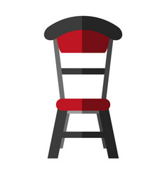 house dining table chair icon image vector image