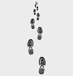 prints of shoes 2 vector image vector image