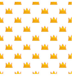 Son of king crown pattern seamless vector