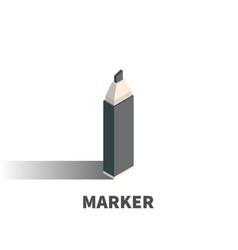 marker icon symbol vector image