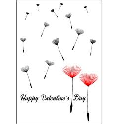 Valentine backgound happy valentines day vector