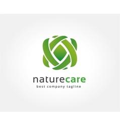 Abstract nature logo icon concept logotype vector
