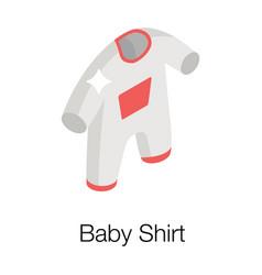 Baby romper vector