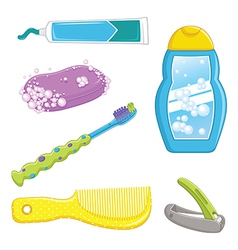 Bathroom Equipments vector image