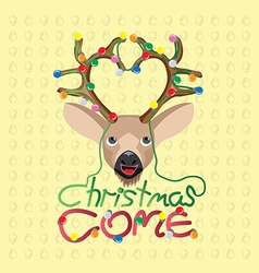 Christmas come vector