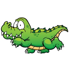 Crocodile vector image