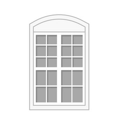 Door and front symbol vector