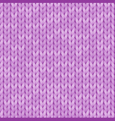 Light violet realistic simple knit texture vector