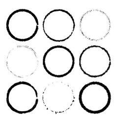 rings frame set for seamless vector image