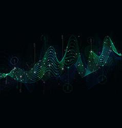 schedule statistics data analytical indicator vector image