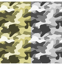 Seamless military background vector