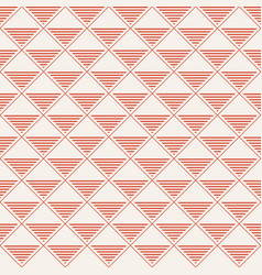 seamless pattern repeating rhombuses with striped vector image