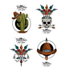 Cactus, Tattoo & Vintage Vector Images (43)