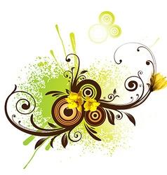 Spring Floral Design vector