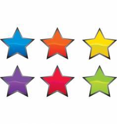 star button vector image