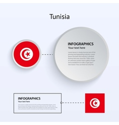 Tunisia Country Set of Banners vector