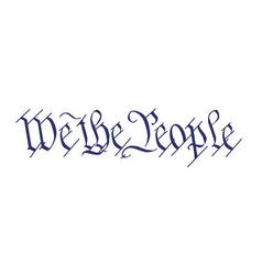 We people vector