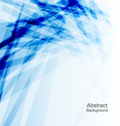 Abstract Blue Background Concept Template vector image vector image