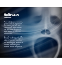 Halloween background with copyspace for text vector image vector image