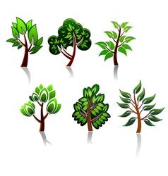 ecology or environment logos vector image