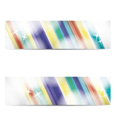 Abstract business banners web background vector