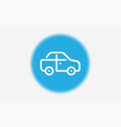 car icon sign symbol vector image