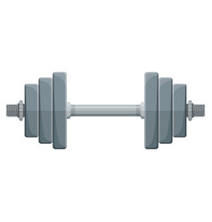 dumbbell for training vector image