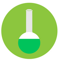 Isolated chemistry icon vector