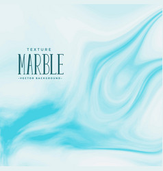 Marble texture background in blue color vector