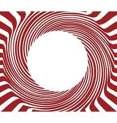 Red Round background vector image