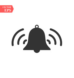 ringing bell iconbell icon art eps vector image