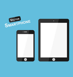 Smart phone flat design vector