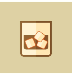 Whiskey Food Flat Icon vector